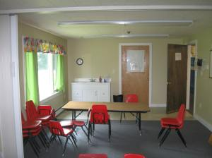 Classrooms transformed into bedrooms