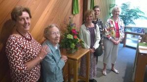 Barbara, Ruth, Nancy, Carol and Milly