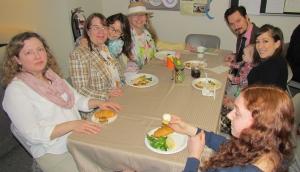 Libby, Stephanie, Veronica, Sharon, Dan, Harry, Diane, Leah