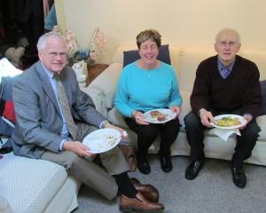 Dan, Barbara, Ron