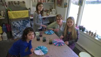 Beehive Art Kim Poler and Peace children
